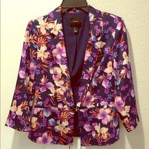 Forever 21 floral blazer